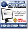 Thumbnail Facebook Choose Between Friends - Viral Facebook APP